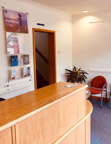 Birdwell Clinic reception, Osteopathy